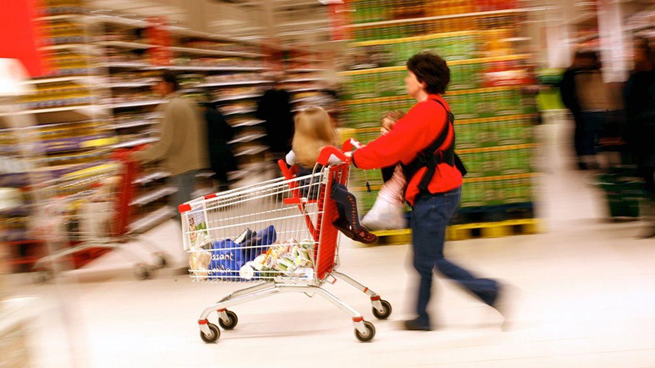 La croissance démographique ralentit et tire vers le bas les ventes de produits alimentaires.