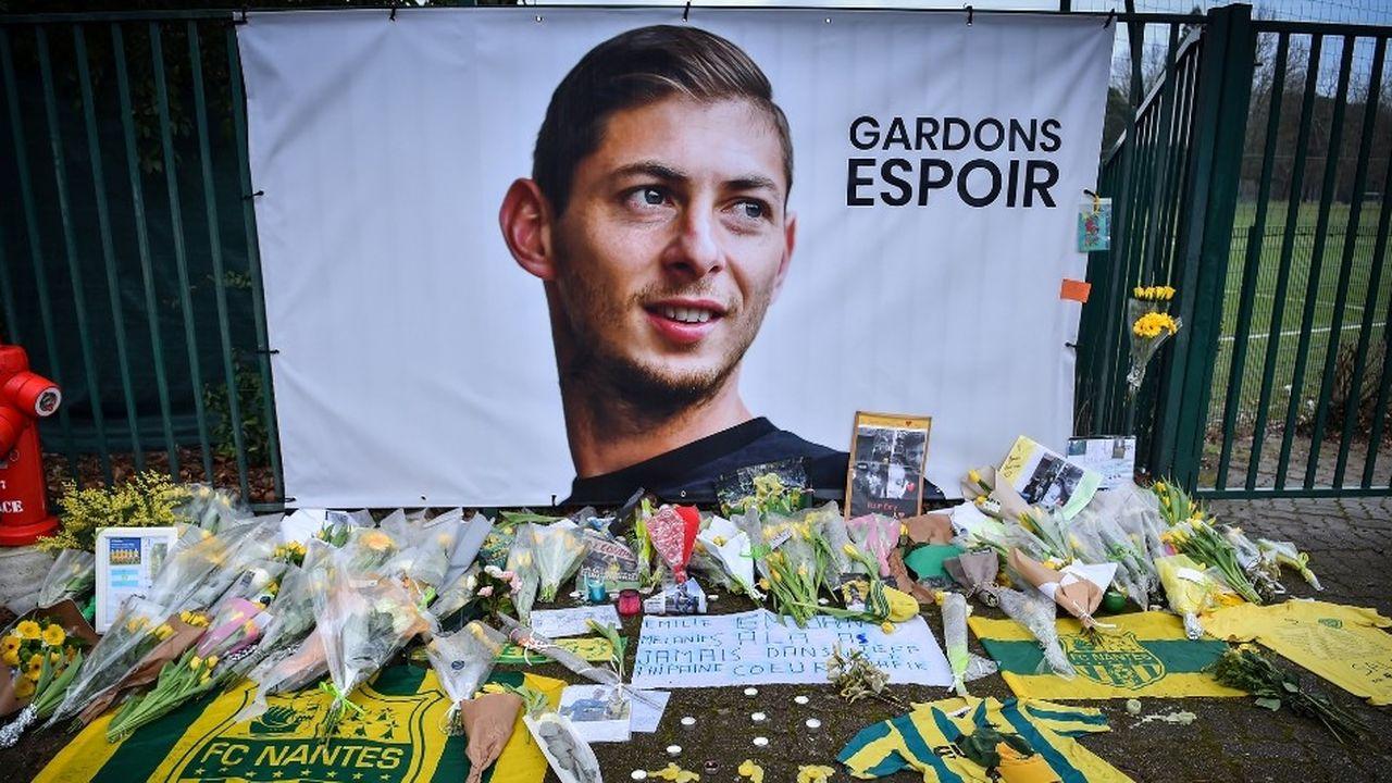 L'avion transportant le joueur argentin entre Nantes et Cardiff s'est perdu en mer le 21janvier