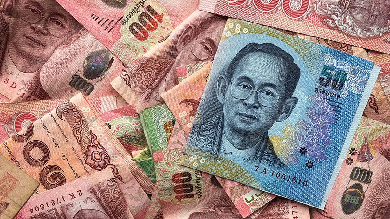 Le bath Thaïlandais fait partie des devises émergentes à avoir été manipulées