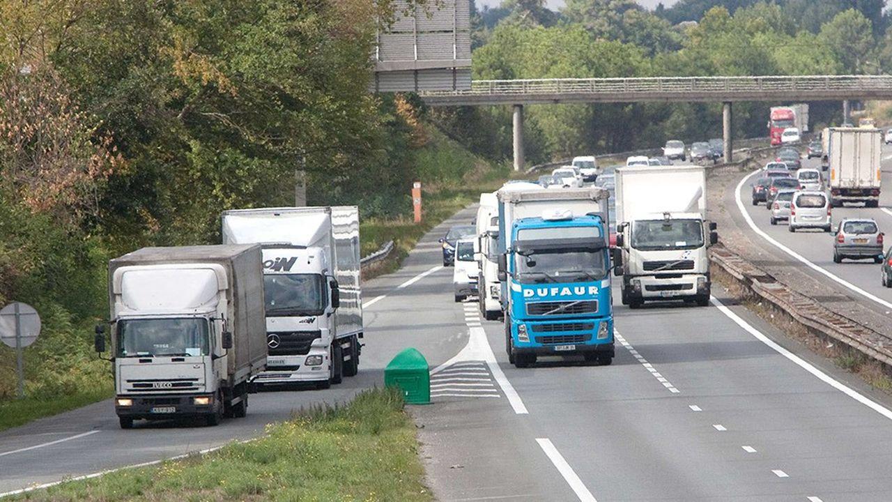 Carrefour, Nestlé, Geodis, Spar Autriche, DB Schenker et Alstom appellent à «fixer dès 2025 un objectif ambitieux de ventes de camions zéro émissions».