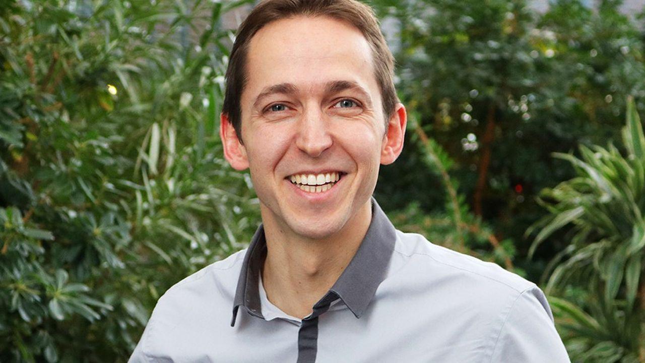 Antoine Leclercq, le président-fondateur de la société lilloise Potion Social.