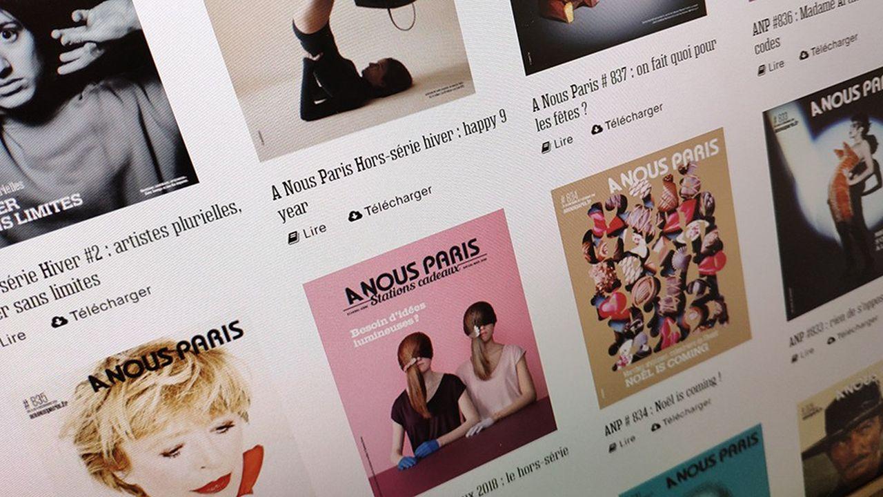 Le magazine «A nous Paris» a disparu des présentoirs du métro parisien.