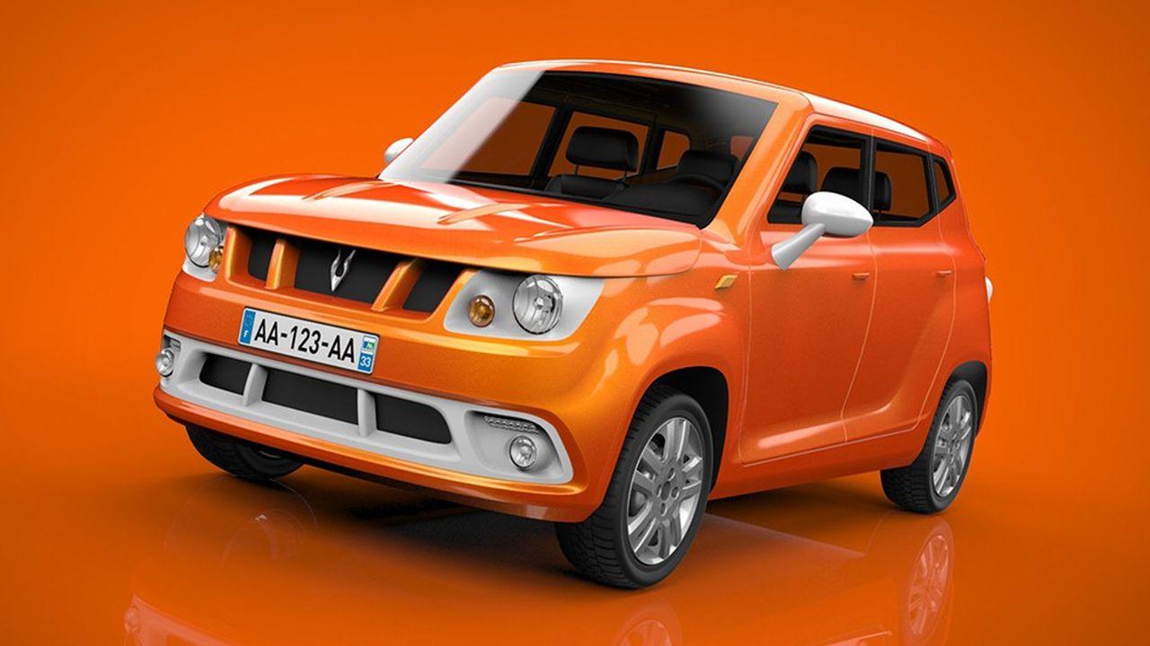 Grâce à un châssis en matériau composite constitué d'une dizaine de pièces assemblées à la main, la voiture low-tech conçue par la start-up française Gazelle Tech a divisé son poids par deux tout en respectant les normes de sécurité.