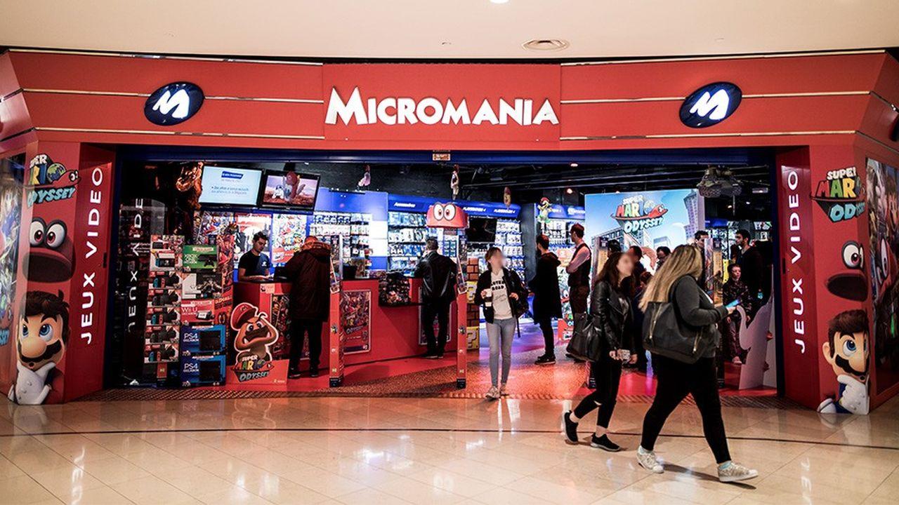 GameStop est propriétaire de l'enseigne Micromania depuis 2008.