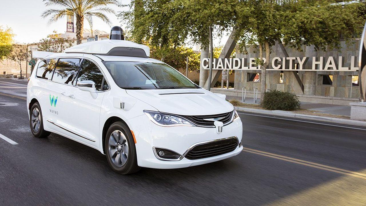 Les «Autres paris» de Google comprennent aussi Waymo, sa division de véhicules autonomes