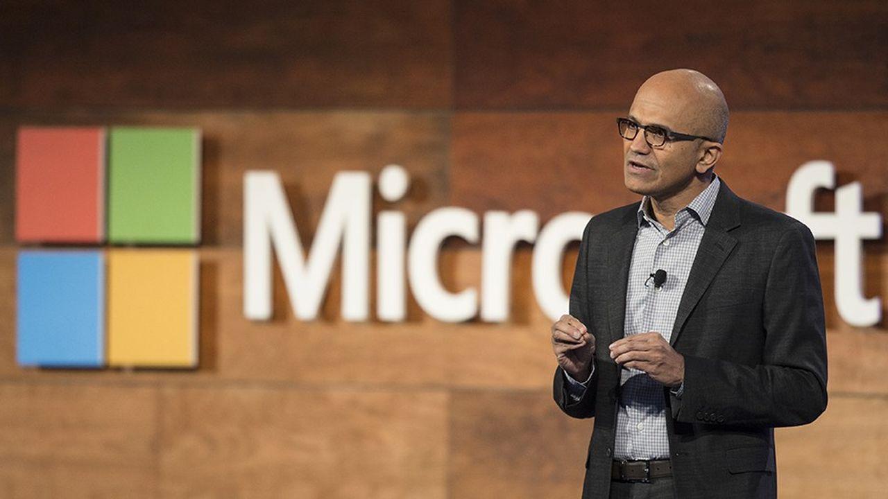 Satya Nadella a pris les commandes de Microsoft en février2014
