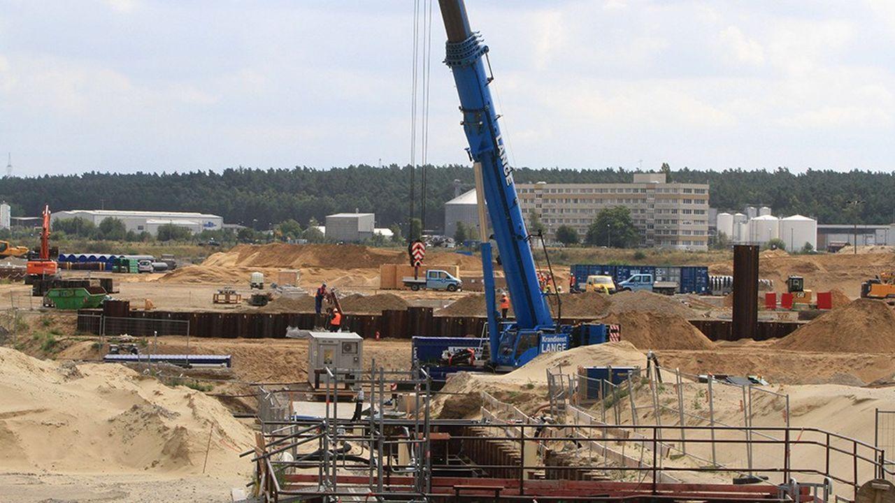 Les travaux de construction du gazoduc Nord Stream 2 ont démarré en septembre.
