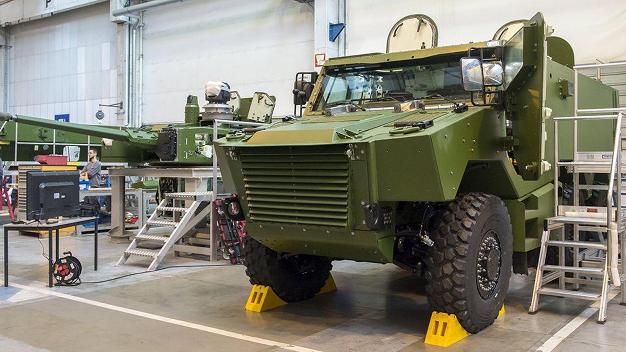 La loi de programmation militaire 2019-2025 prévoit la livraison de 1900 véhicules blindés Griffon, dont 92 l'an prochain.
