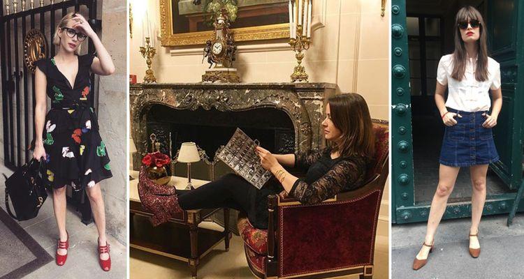 Elles portent Carel avec de gauche à droite, l'actrice américaine Emma Roberts (12,7millions de followers sur Instagram), l'influenceuse beauté/life style Bianca Bernacchi Bigeard (96.800 followers) et la chanteuse marseillaise Clara Luciani (66.800followers)