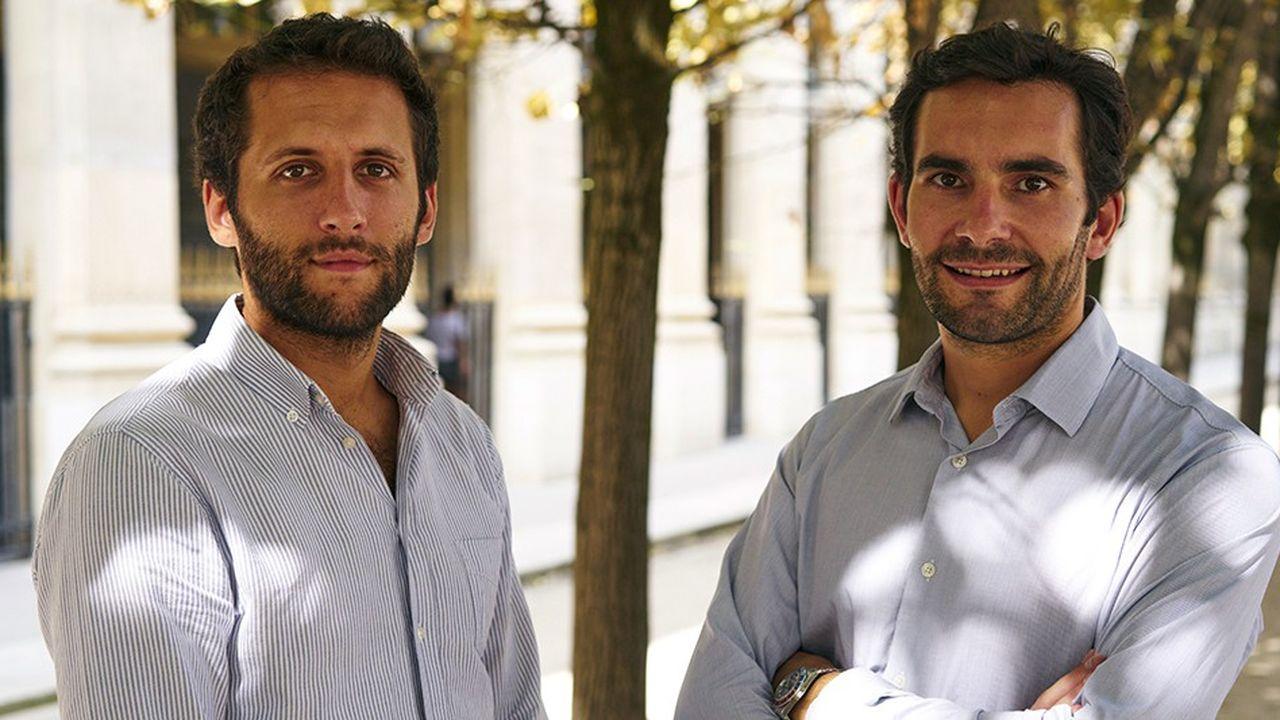 Pierre Chapon (à droite) et Renaud Pestre (à gauche), les deux cofondateurs de Pretto.