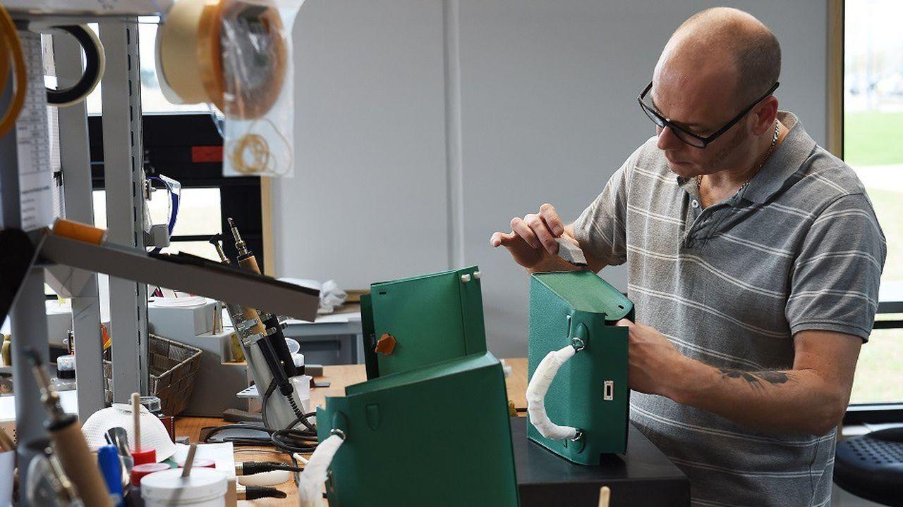 Hermès possède aujourd'hui 16 ateliers en France.