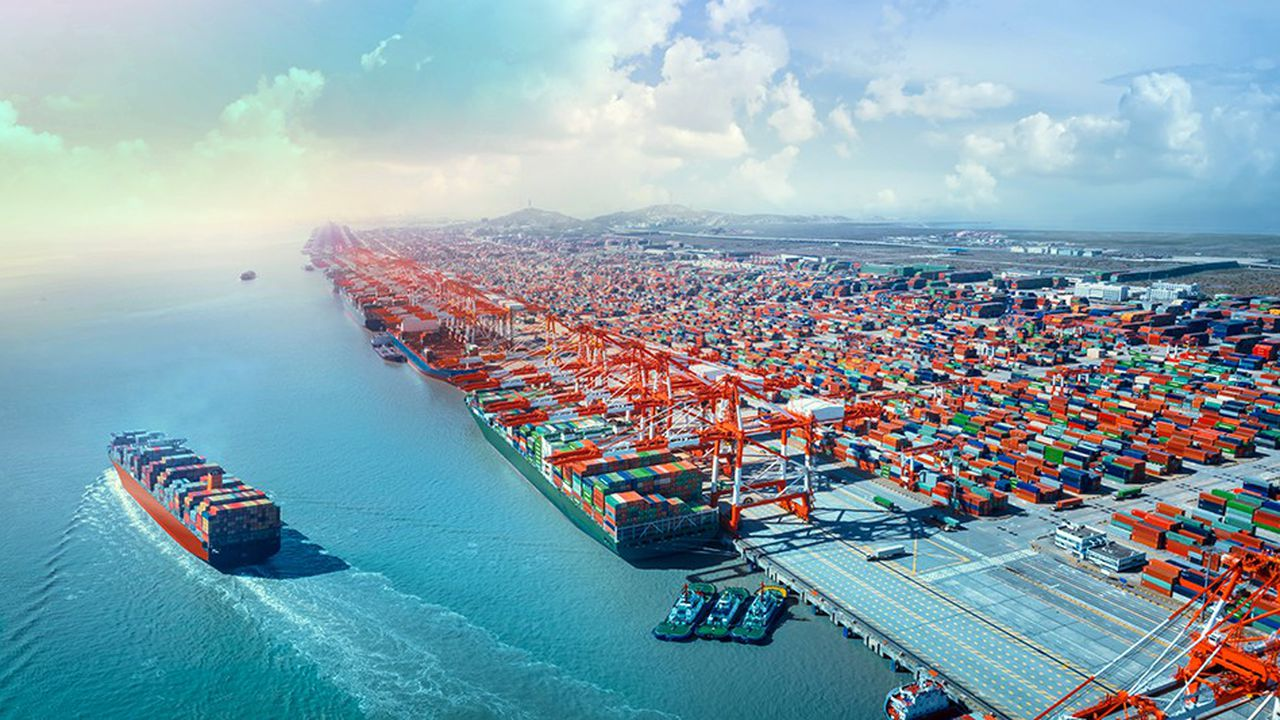 Les échanges internationaux de biens ont augmenté en quantité, mais la proportion qui passe aujourd'hui les frontières est plus faible qu'en 2007.