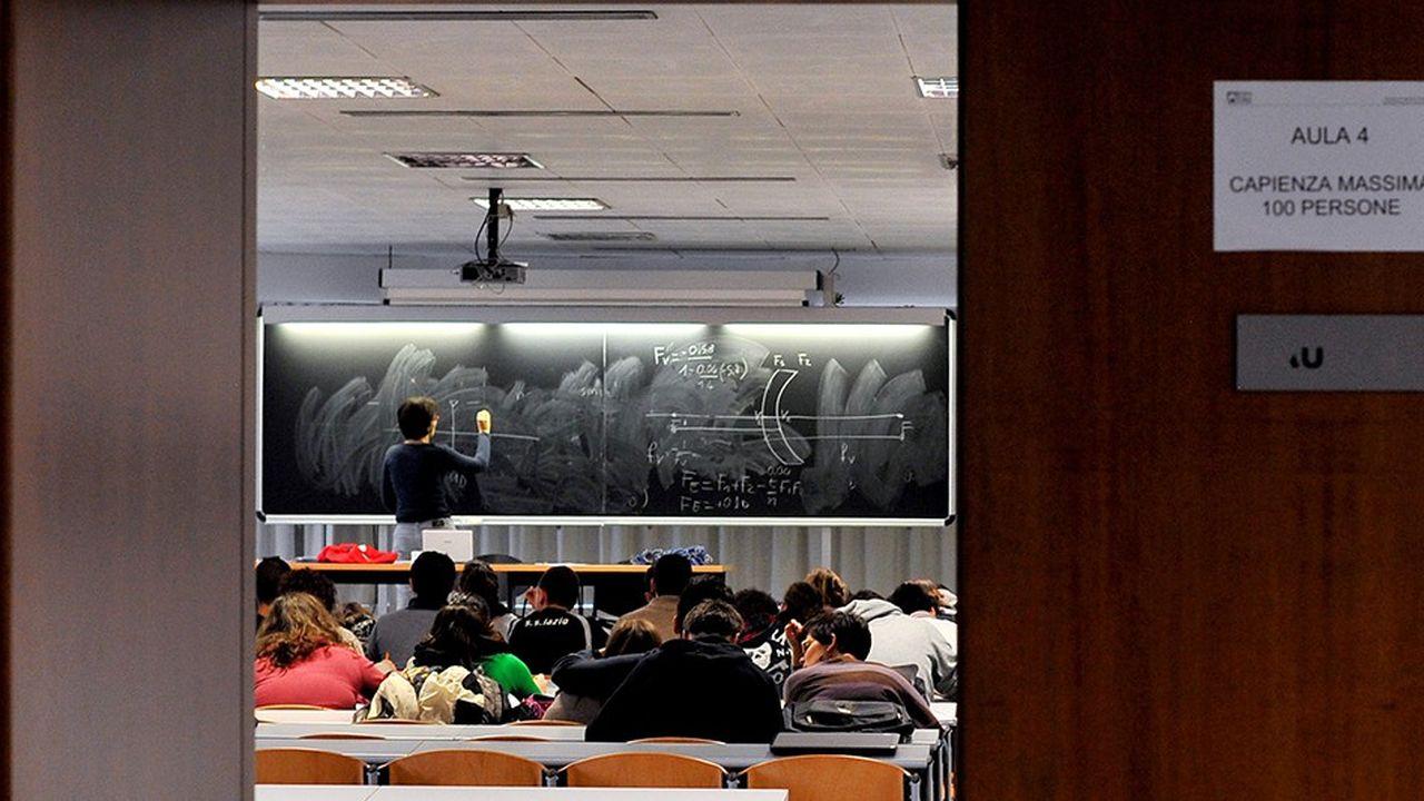 Ces cinq dernières années, 156.000 jeunes diplômés italiens ont quitté le pays pour s'installer essentiellement en Europe. Ici, l'université Roma Tre