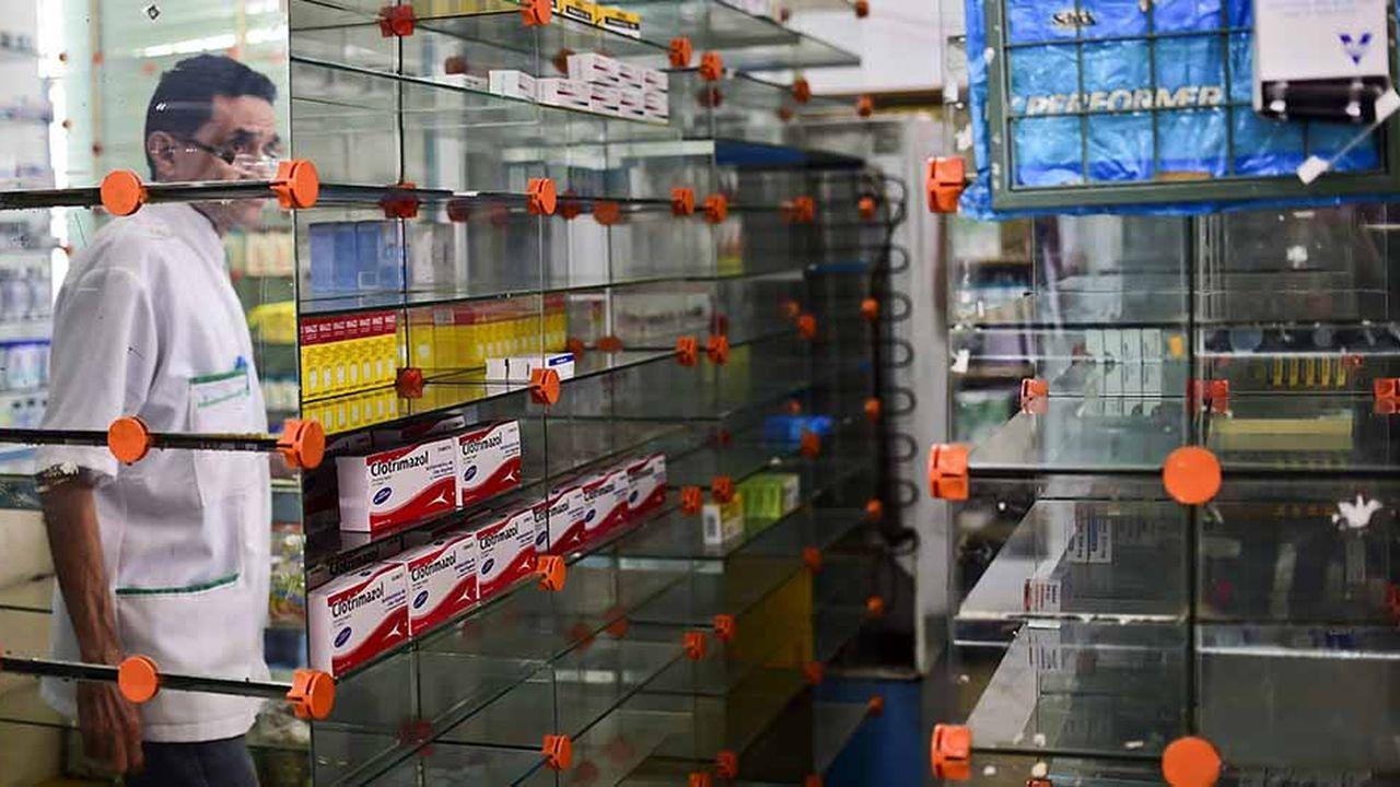 La pénurie de médicaments au Venezuela dépasse les 85%