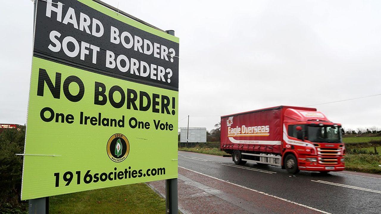 Les Irlandais ne veulent pas de frontière entre le nord et le sud.