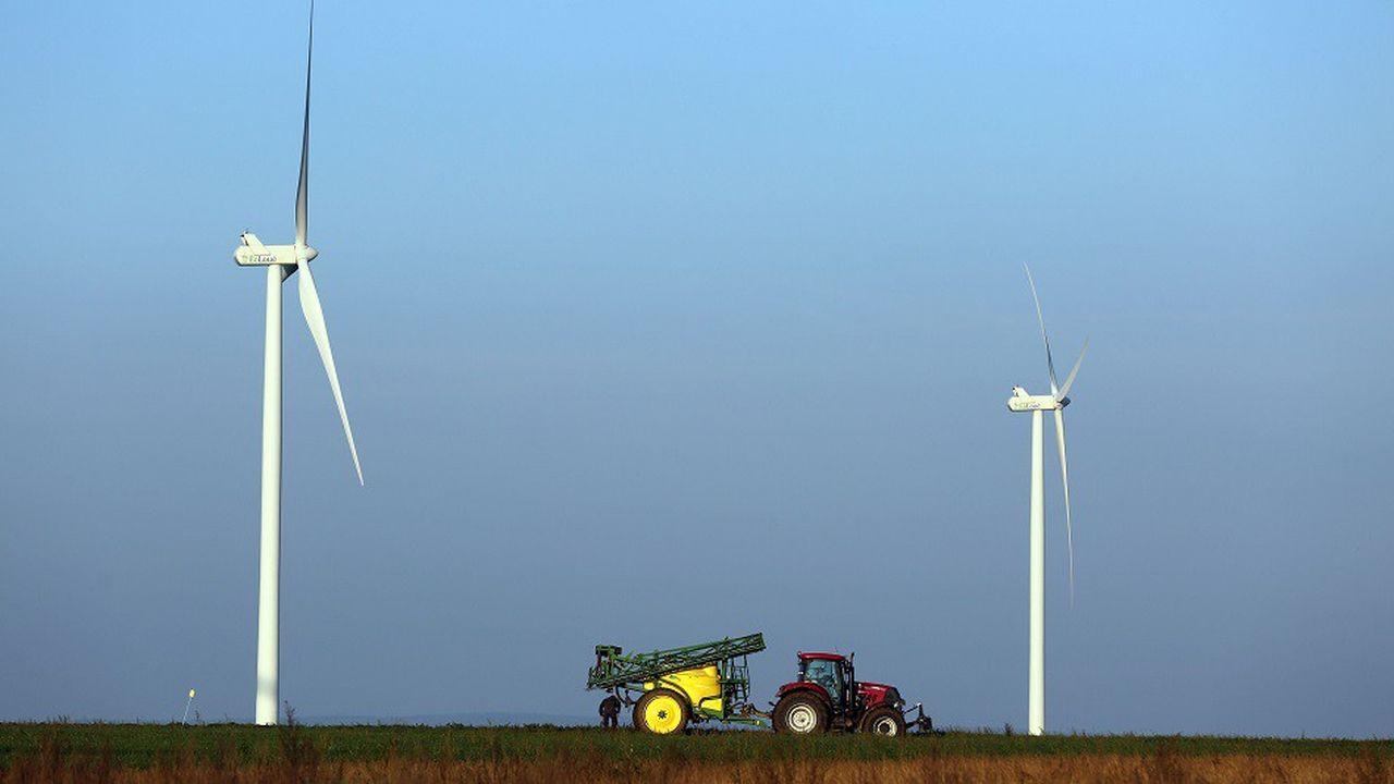 Le parc d'énergies renouvelables s'est étoffé de 2.400 mégawatts supplémentaires, l'équivalent de la puissance de deux réacteurs nucléaires.