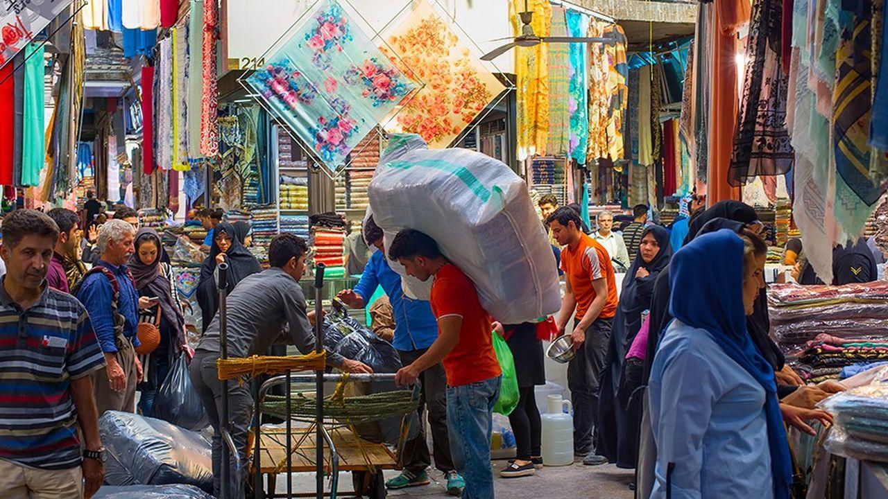 Le grand bazar de Téhéran pourrait être achalandé en produits alimentaires et pharmaceutiques fournis par les pays européens via Instex.