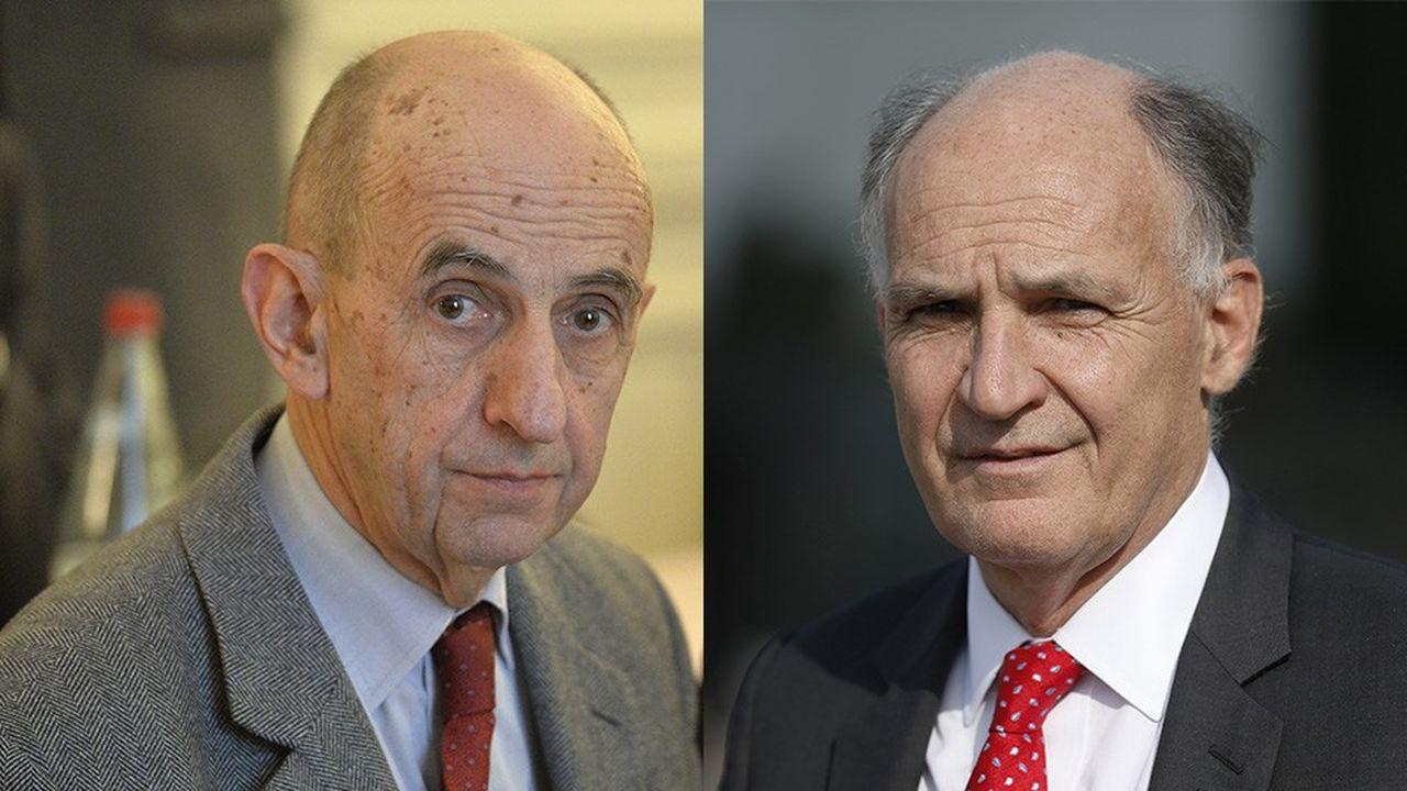 Pierre-André de Chalendar et Louis Gallois sont les présidents de La Fabrique de l'industrie.