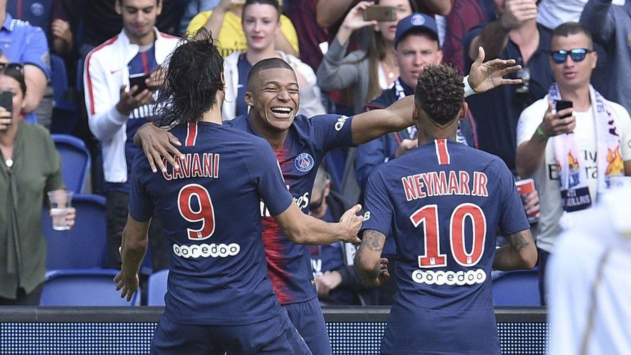Neymar, Mbappé et Cavani sont les trois joueurs les mieux payés de Ligue 1