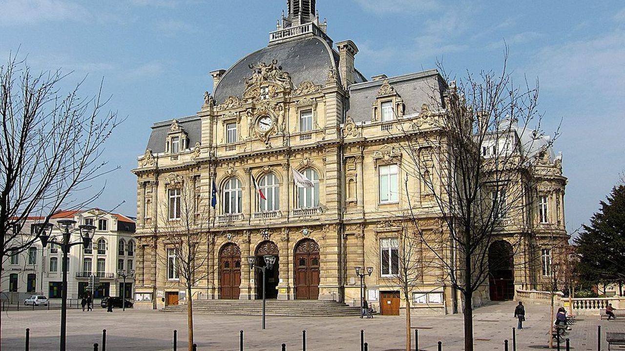 L'hôtel de ville de Tourcoing.