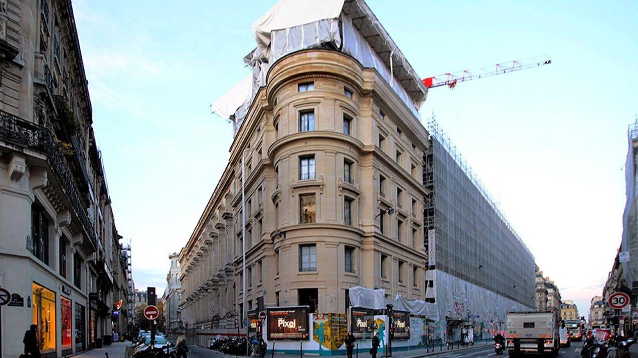 Le bâtiment d'origine de la poste du Louvre avait été inauguré il y a 132 ans.