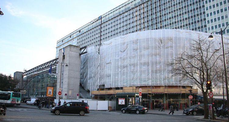 La gare Montparnasse a engagé sa transformation à l'automne 2017. Elle devrait être achevée en 2020.