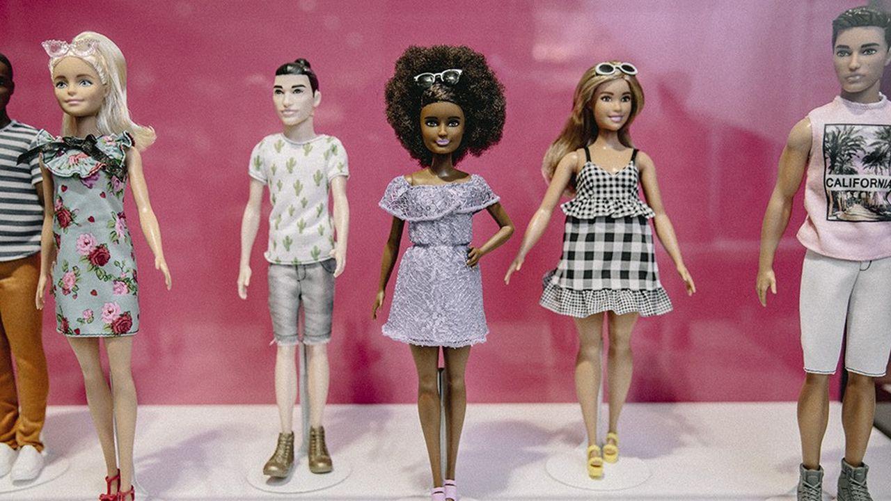 Les ventes de Barbie ont repassé l'an dernier à la hausse le seuil symbolique de 1milliard de dollars, pour la première fois depuis 2014.