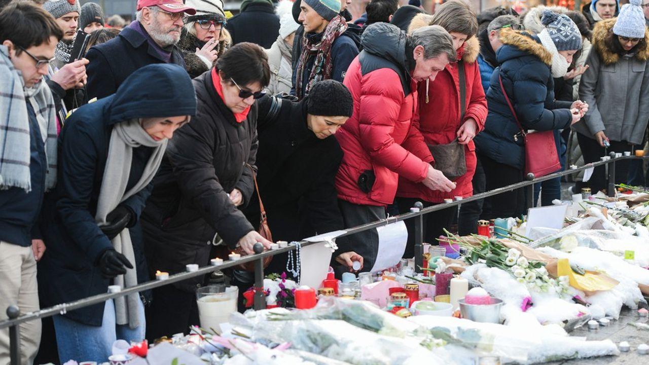 L'attentat du 11décembre a faitcinq morts et une dizaine de blessés.