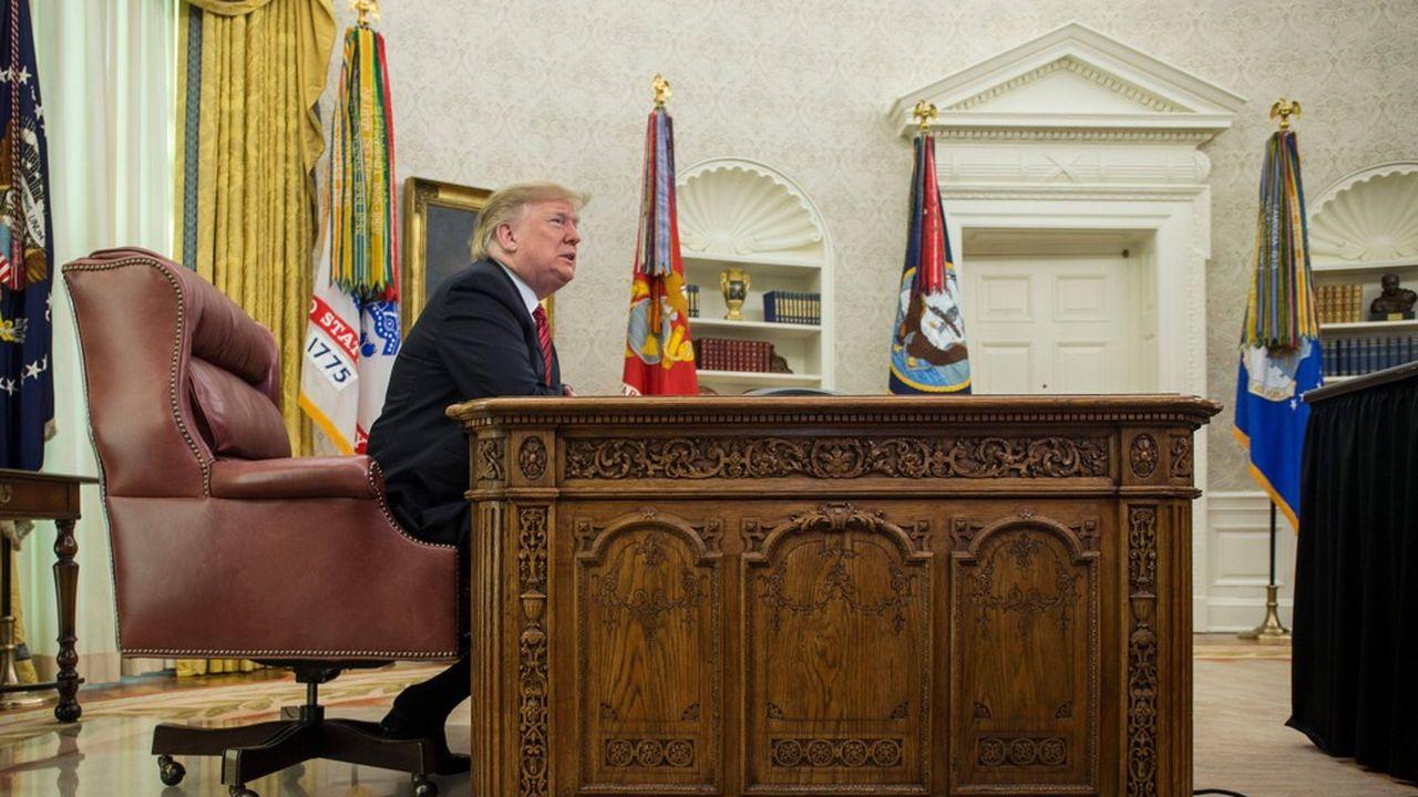 L'emploi du temps à la Maison-Blanche de Donald Trump est régulièrement dénoncé depuis son investiture.