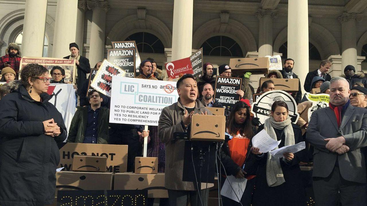 L'arrivée d'Amazon à New York provoque un vent de fronde parmi une partie de la population et des élus