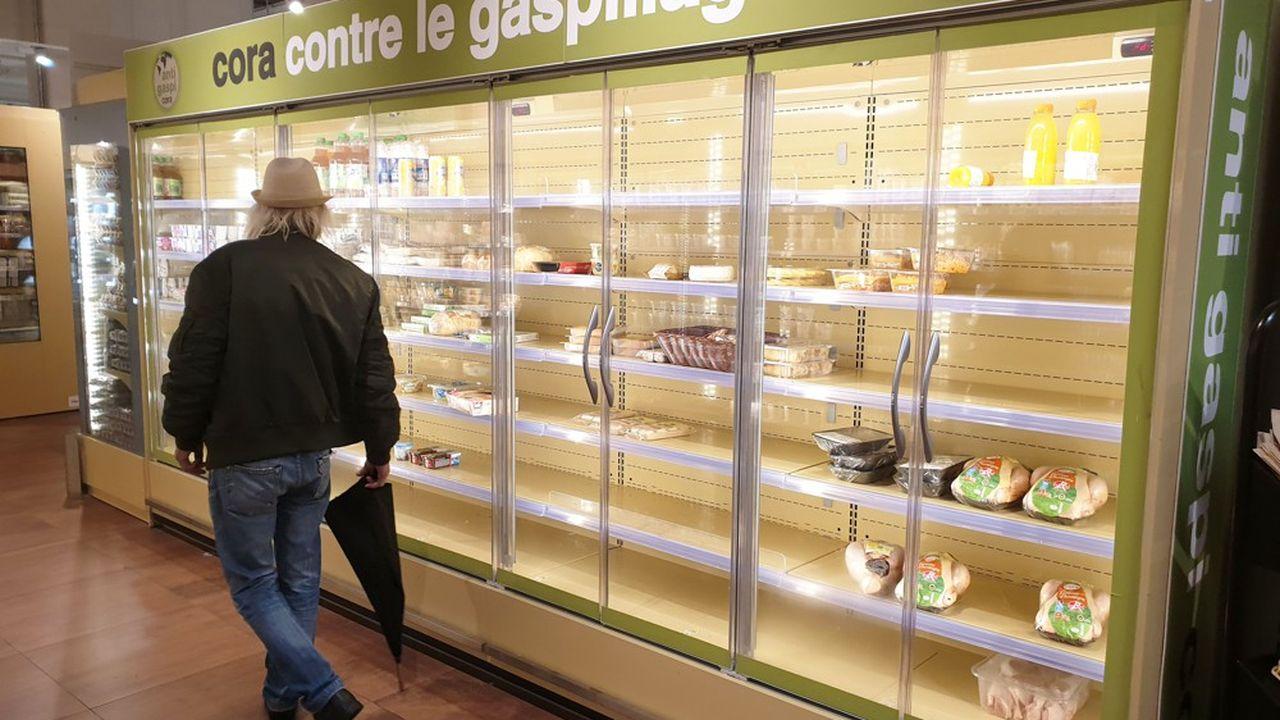 En gardant les produits 1% du temps en plus sur leurs étals, les distributeurs verraient leurs ventes augmenter de 0,5%