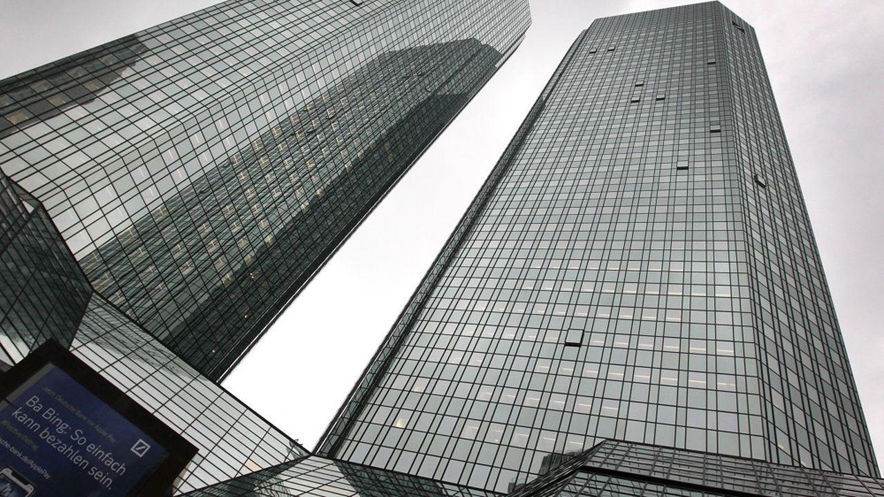 Grâce à ses capacités d'emprunt, la Deutsche Bank avait réussi à se hisser parmi les premières banques d'investissement de la planète.