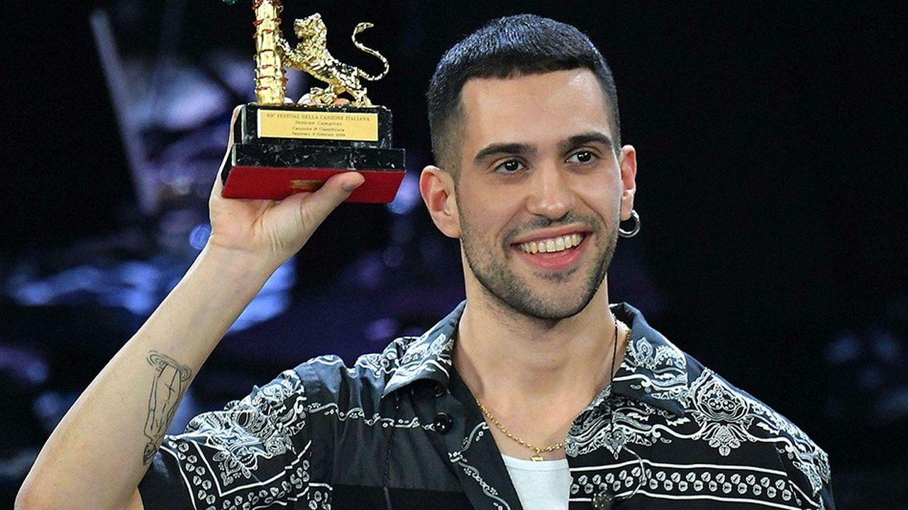 Alessandro Mahmood, vainqueur du 69e festival de la chanson italienne de San Remo