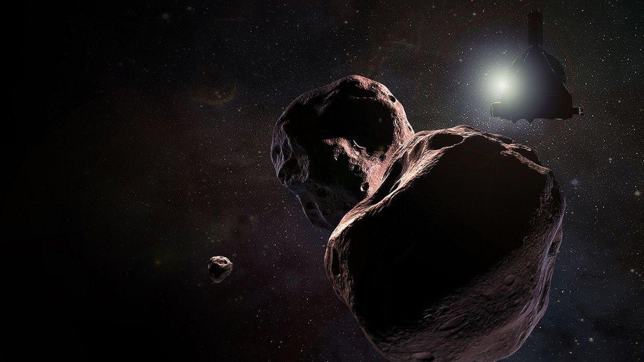 Ultima Thule a été survolé par la sonde New Horizons lors de la nuit du Nouvel an