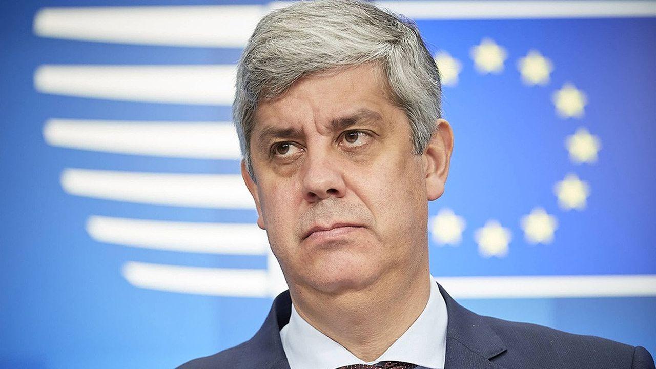 Plusieurs ministres, dont le président de l'Eurogroupe, Mario Centeno, ont profité de la rencontre pour accentuer la pression sur l'Italie.