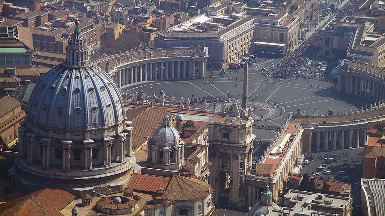 L'Etat du Vatican n'a pas encore tout à fait un siècle: 90 ans exactement.