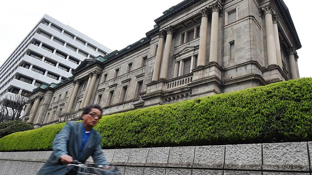La Banque du Japon a été le premier institut d'émission à abaisser ses taux à 0%.