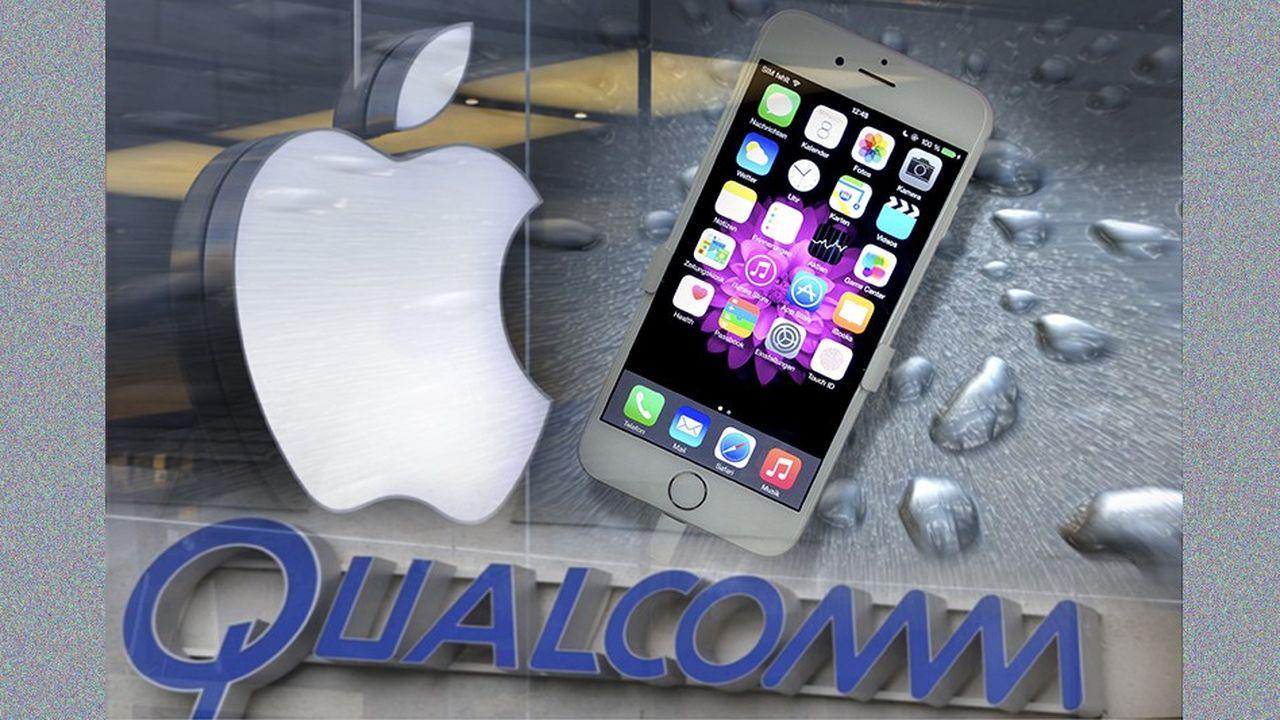 Apple a commencé à collaborer avec Qualcomm en 2007