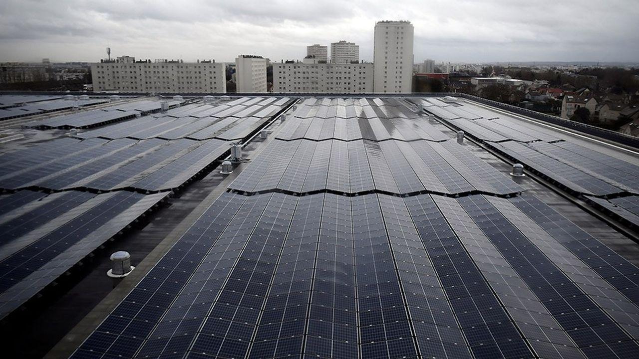 La ville a lancé un appel à manifestations d'intérêt pour équiper une dizaine de toitures, le résultat sera connu au printemps.