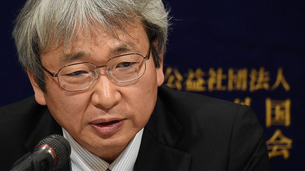 Le principal avocat japonais de Carlos Ghosn, Motonari Otsuru.