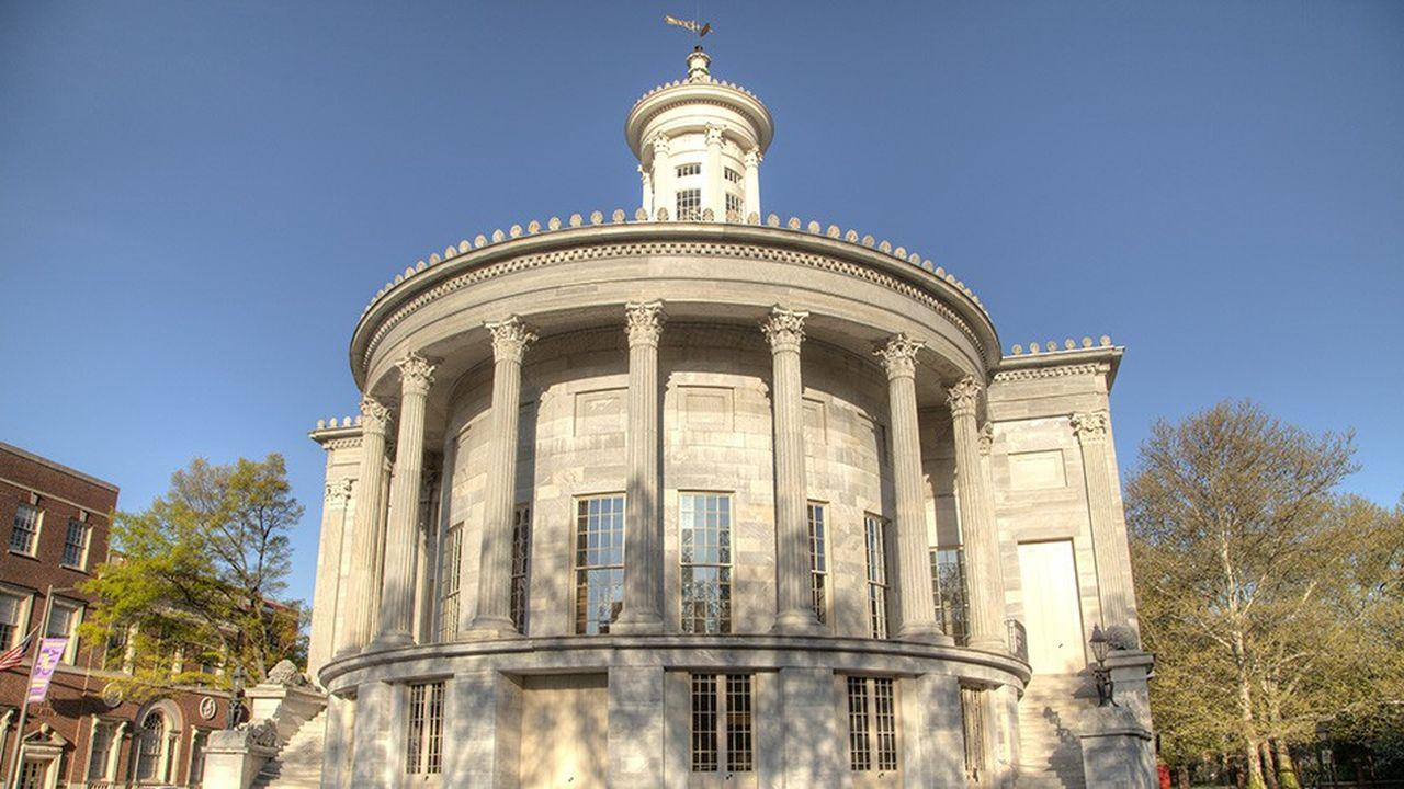 Philadelphie fut la première bourse américaine, créée en 1790