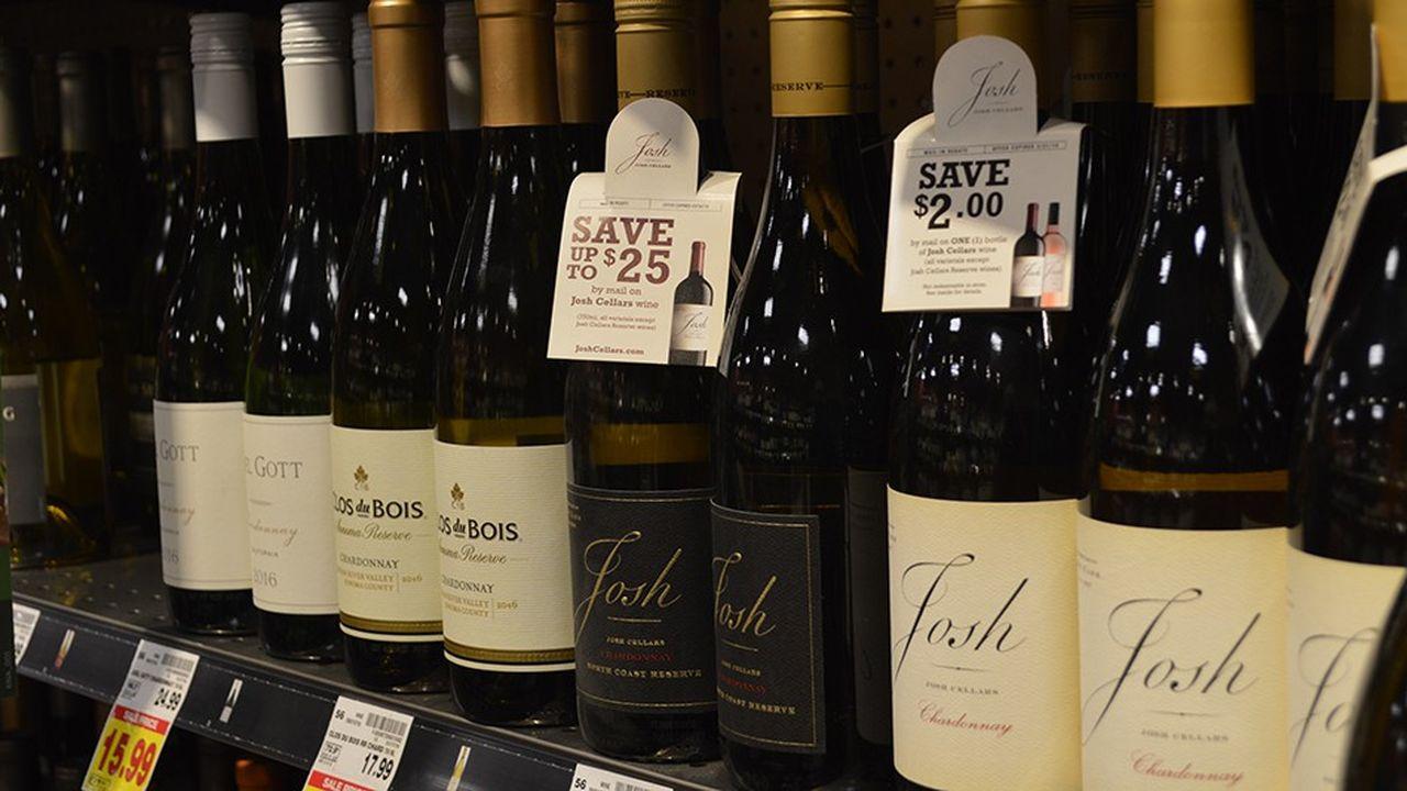 Les Etats-Unis, premier marché mondial pour les vins et spiritueux, demeurent le premier client de la France avec une croissance soutenue de près de 5% à 3,2milliards d'euros.