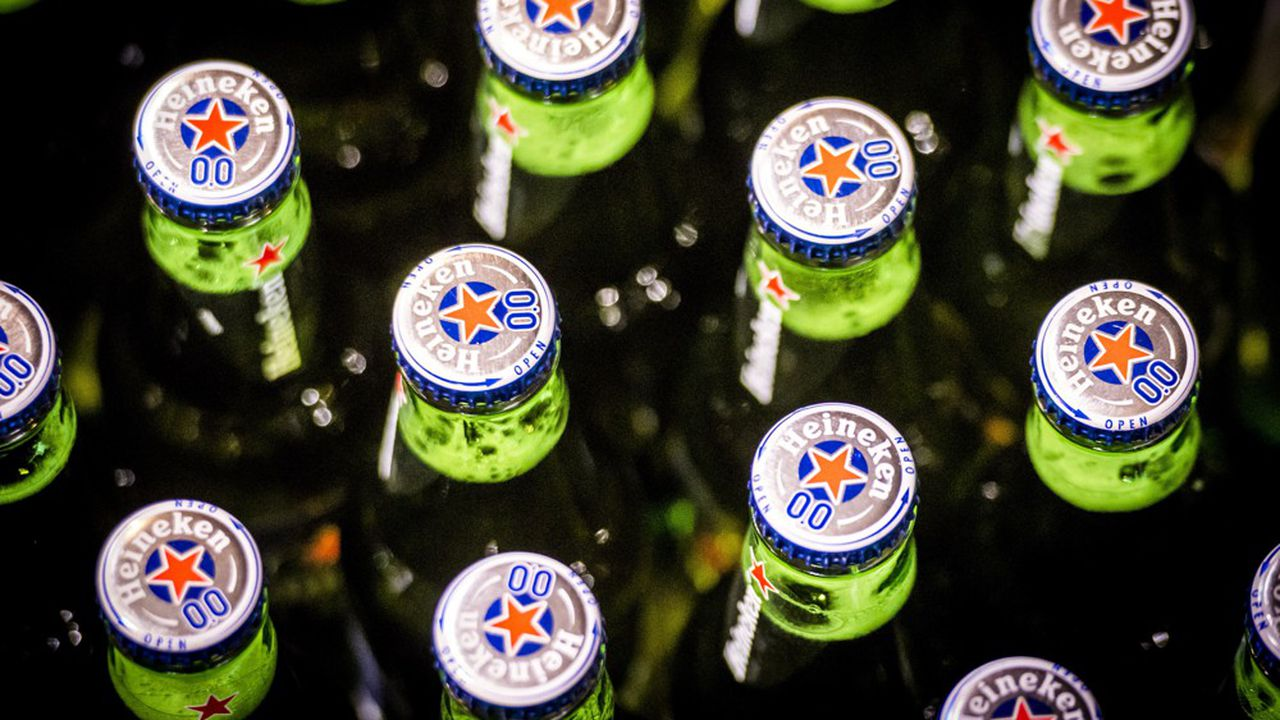 La bière sans alcool Heineken 0.0 avait été lancée au deuxième trimestre 2017