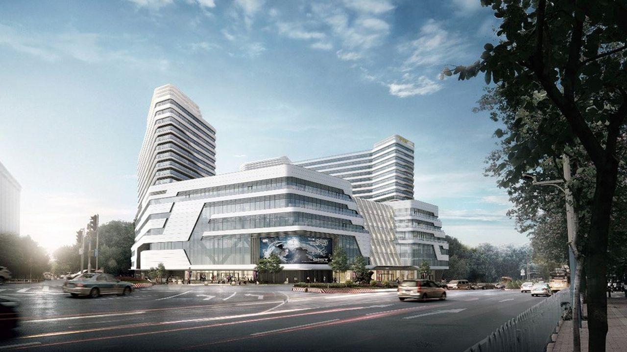 GL Events doit réceptionner cette année le flambant neuf palais des congrès de Guangzhou.