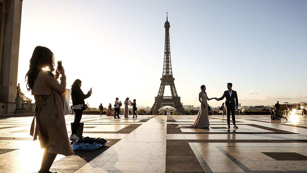 Le Grand Paris a profité d'une hausse de près de 11% de la fréquentation des touristes étrangers au cours des dix premiers mois de 2018. Sans surprise, le mouvement des «gilets jaunes» a cassé la dynamique à la fin de l'année.