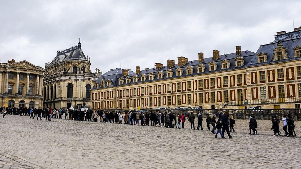 Le domaine de Versailles a accueilli plus de 8millions de visiteurs en 2018.