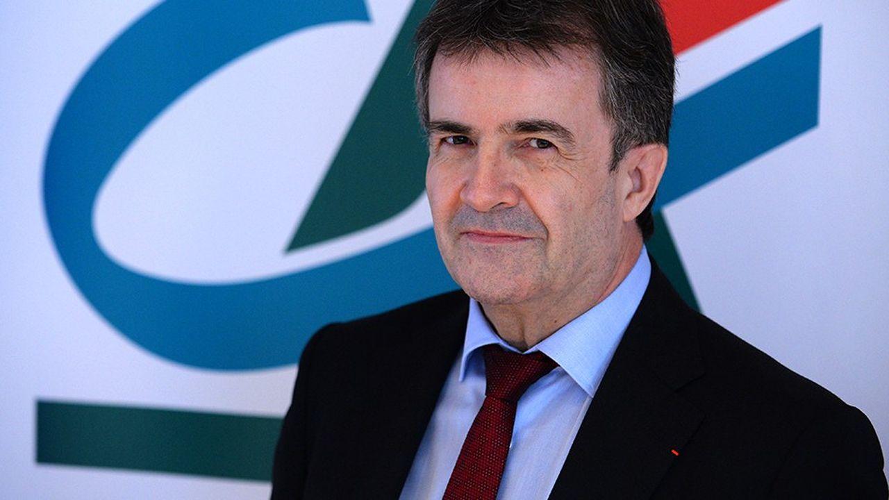 Crédit agricole SA, dirigé par Philippe Brassac, atteint avec un an d'avance les principales cibles financières inscrites dans son plan «Ambition stratégique 2020».