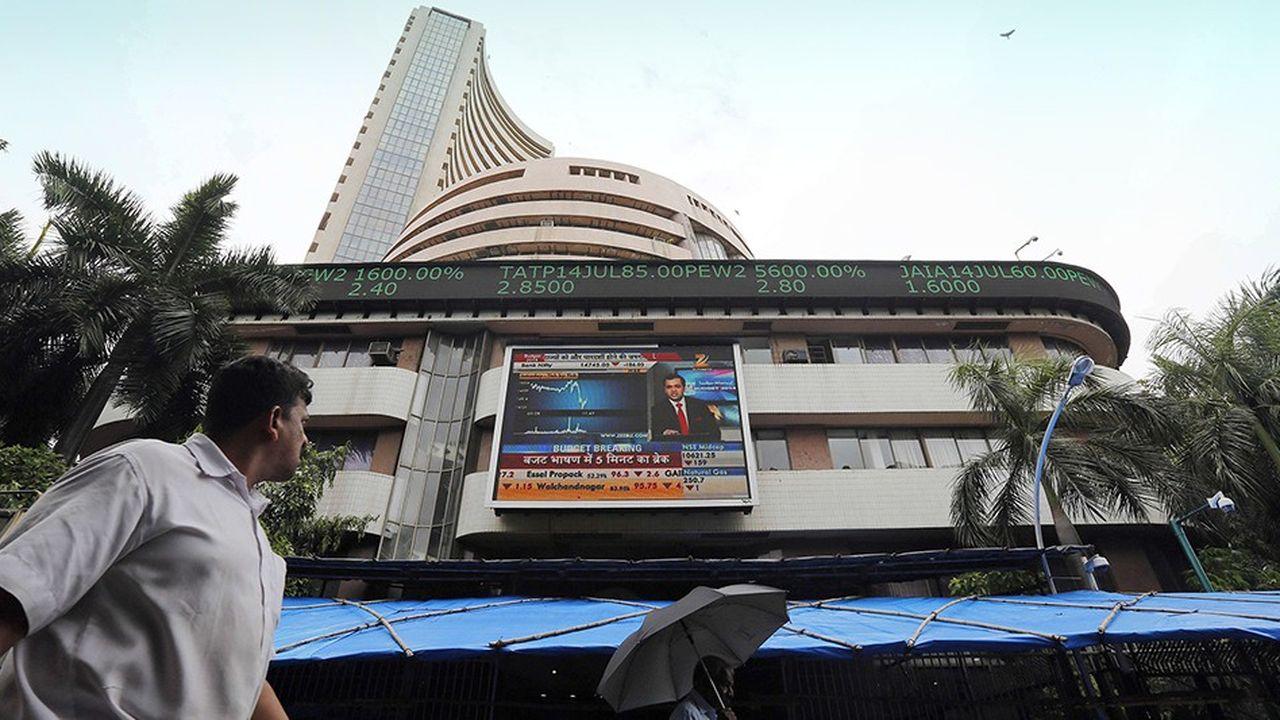 La Bourse indienne est en panne depuis le début de l'année. Un essoufflement après de belles années de croissance.