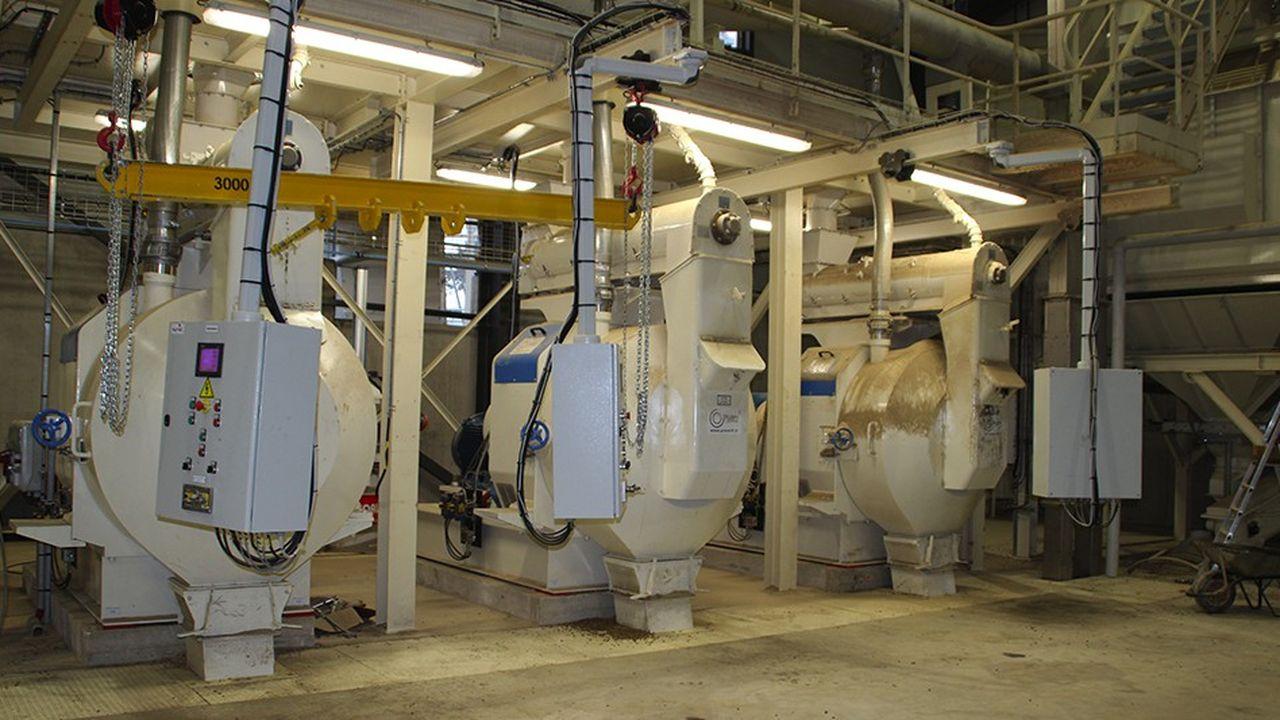 Le fabricant de pellets Cogra est également importateur de poêles à granulés de bois Harman.