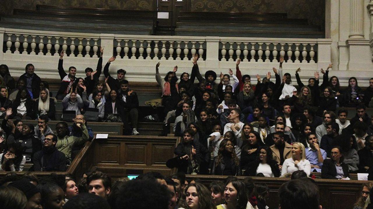 Colloque organisé par la fondation Croissance Responsable avec les étudiants